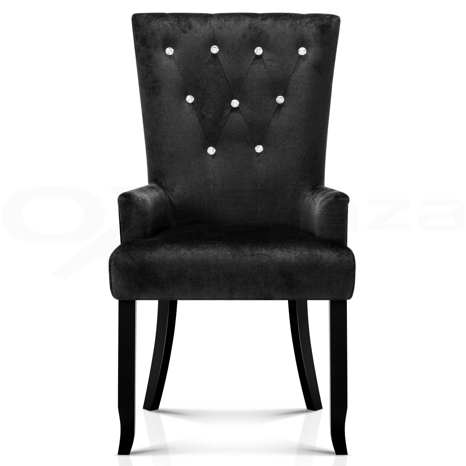 retro kitchen chairs black photo - 9