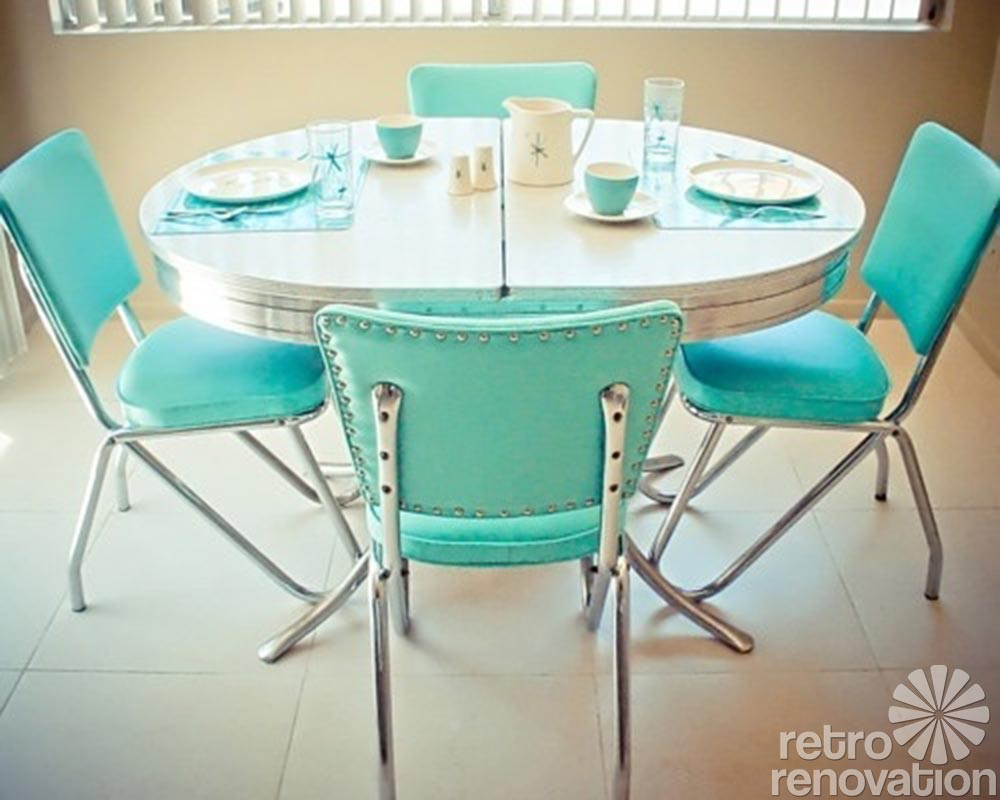 retro kitchen dining sets photo - 1