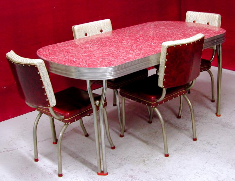 retro kitchen dining sets photo - 3