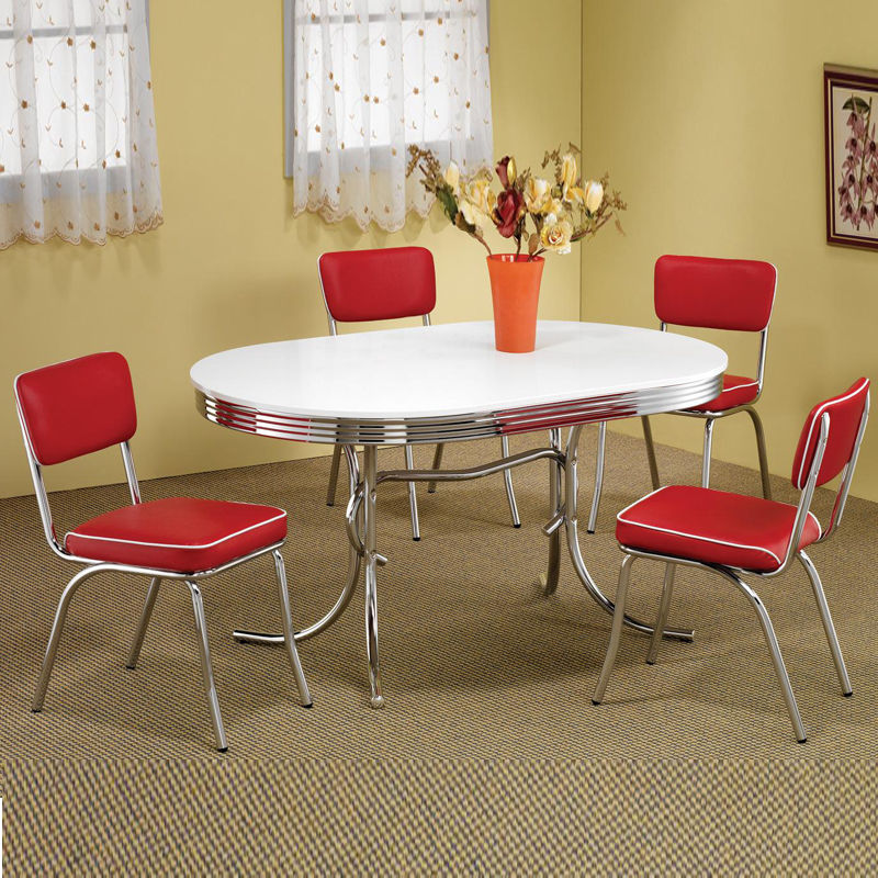 retro kitchen dining sets photo - 6