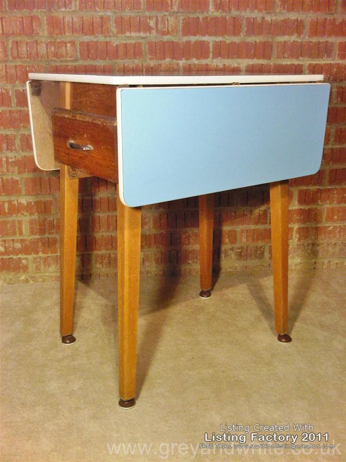 retro kitchen table leaf photo - 1