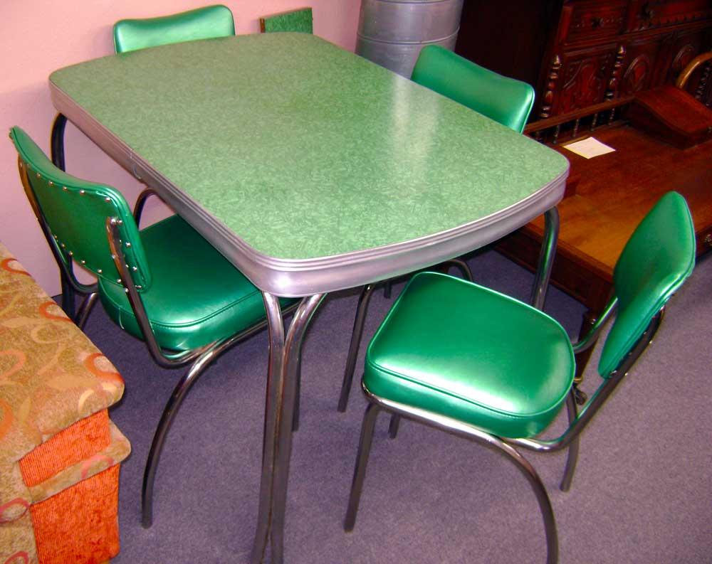 retro kitchen table leaf photo - 10