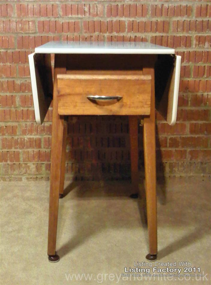 retro kitchen table leaf photo - 7