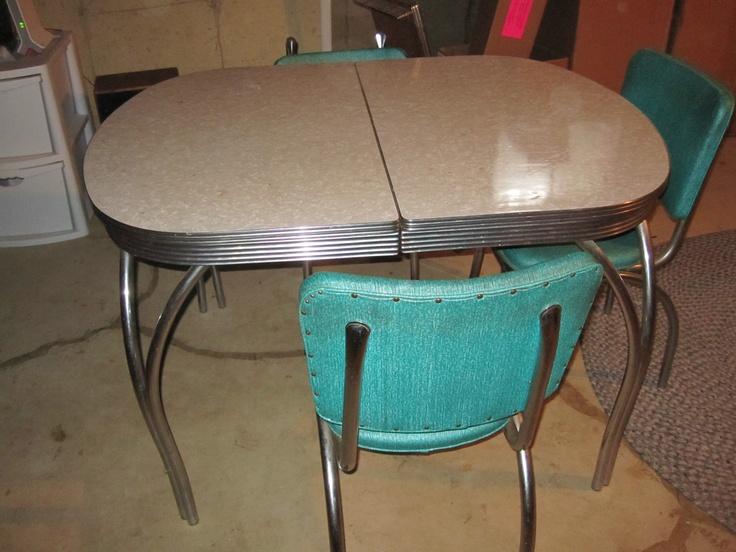 retro kitchen table leaf photo - 9