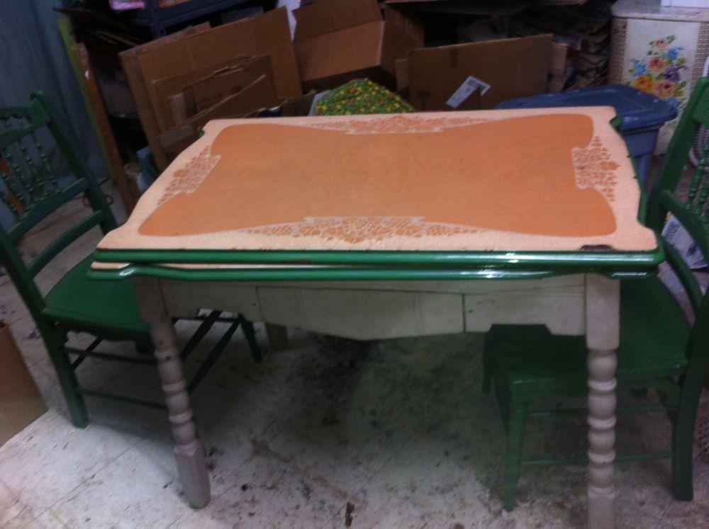 retro kitchen table legs photo - 3