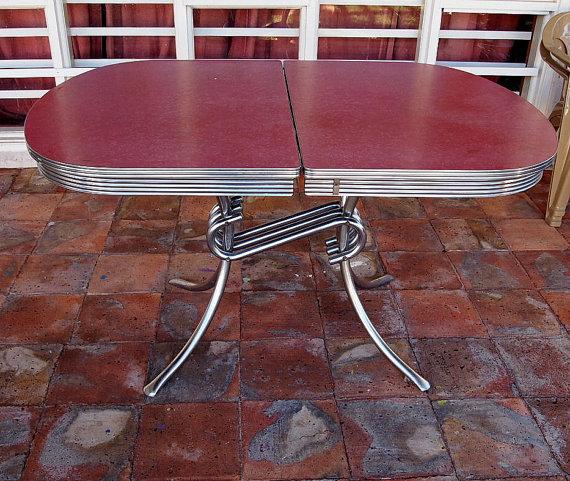 retro kitchen table legs photo - 7