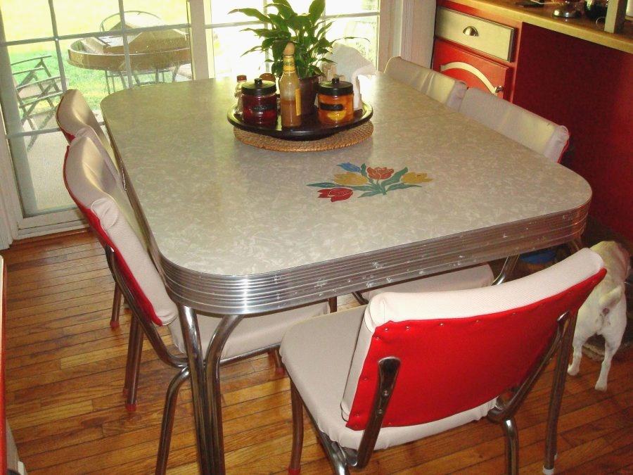 retro kitchen table phoenix photo - 1