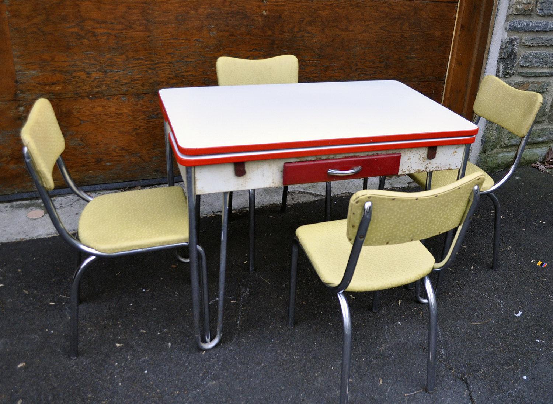 retro kitchen table phoenix photo - 2