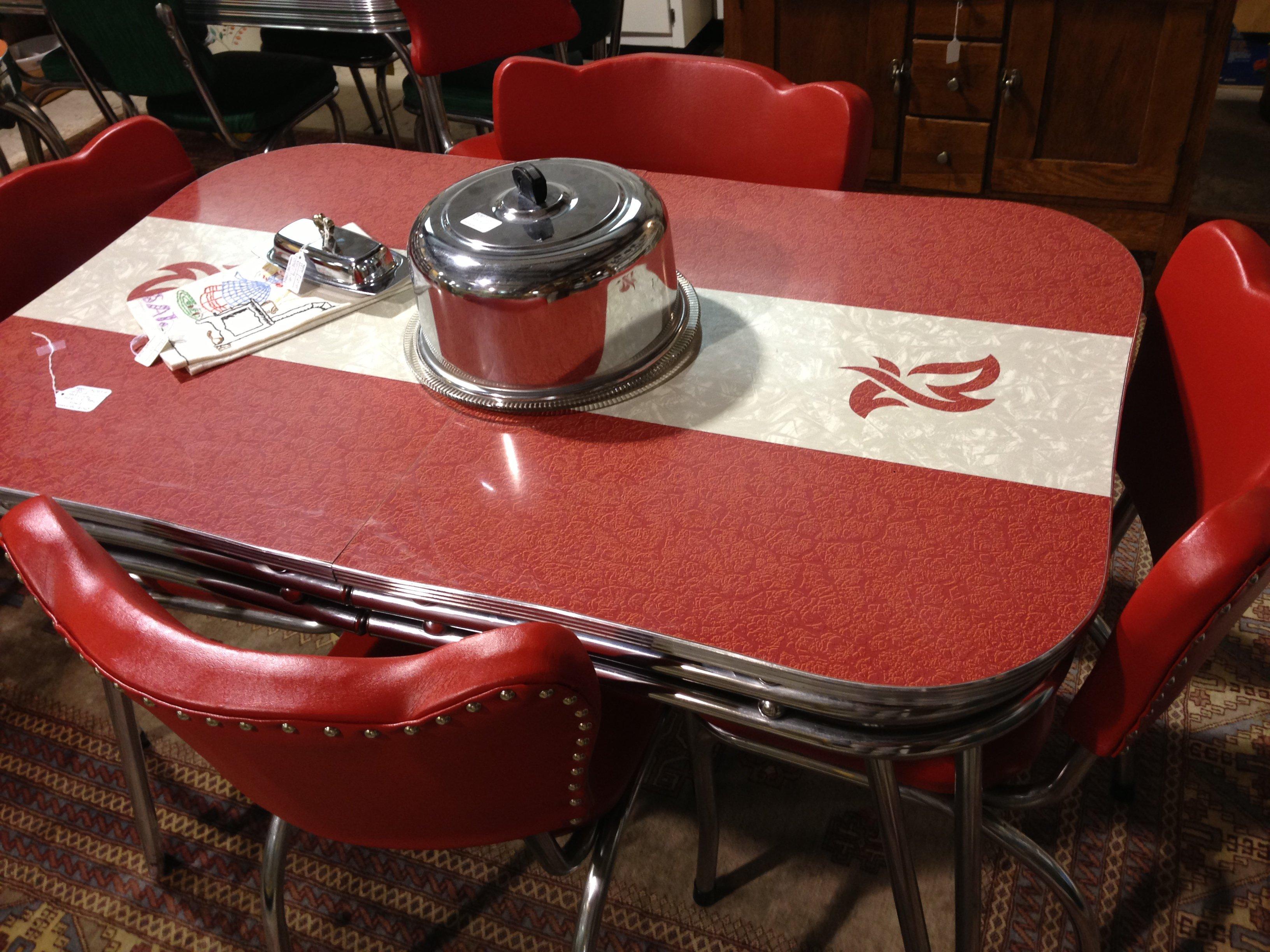 retro kitchen table phoenix photo - 5