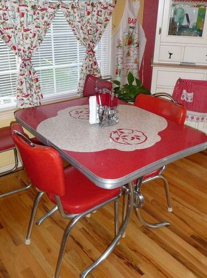 retro kitchen table phoenix photo - 8