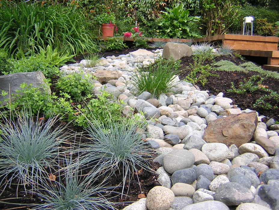 Superieur River Rock Garden Ideas Photo   2