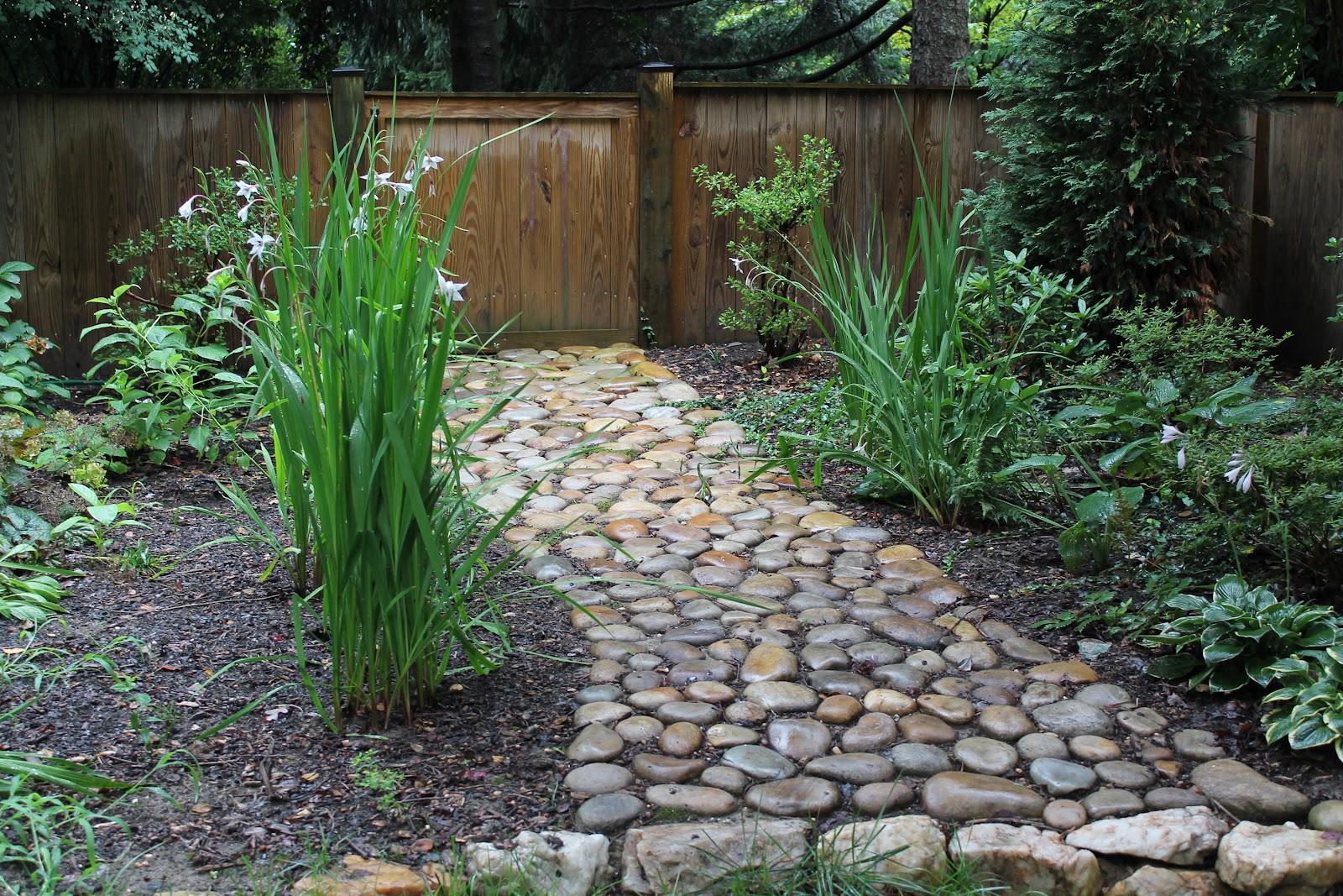 River Rock Garden Path