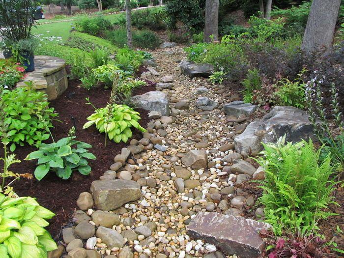 river rock gardens pictures photo - 9