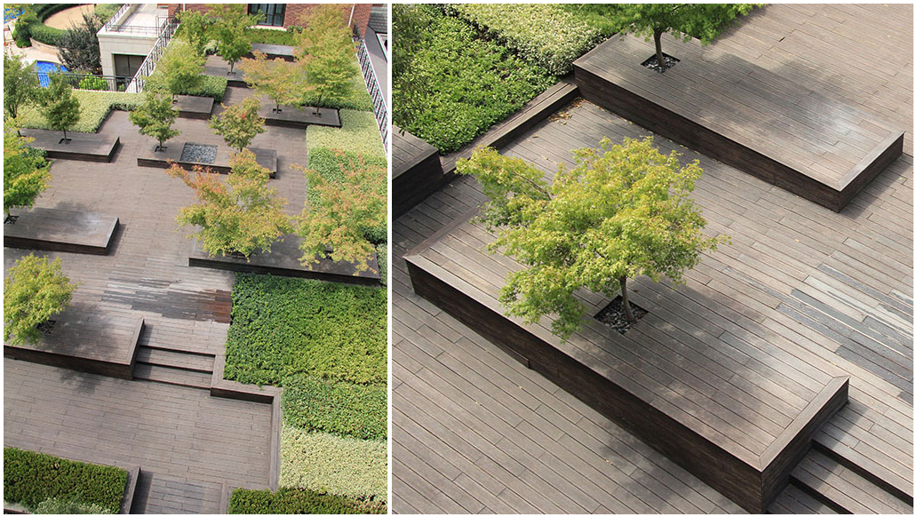 roof terrace garden design photo - 10