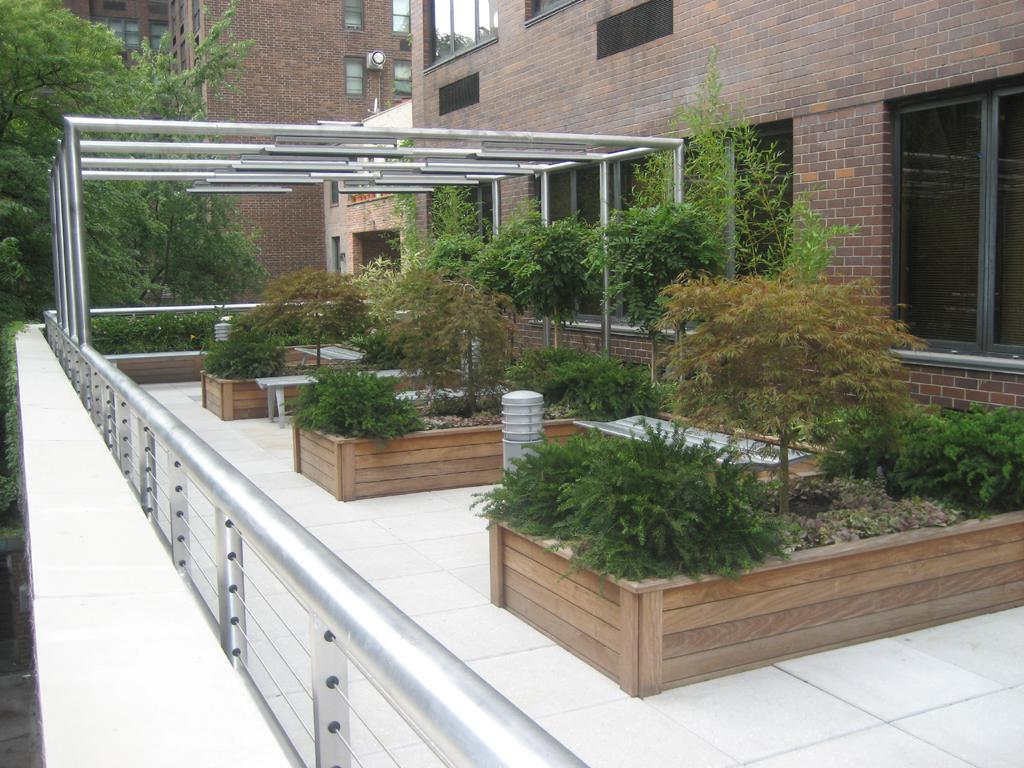 roof terrace garden design photo - 3