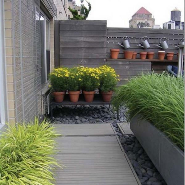 roof terrace garden design photo - 4