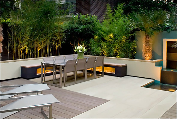 roof terrace garden design photo - 6