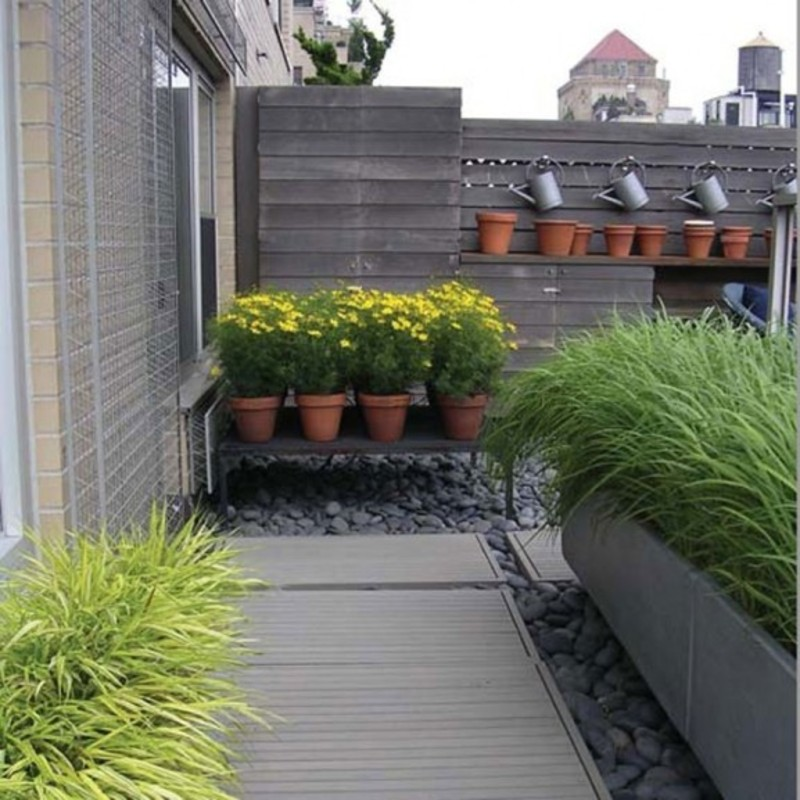 Roof terrace garden design ideas | Hawk Haven