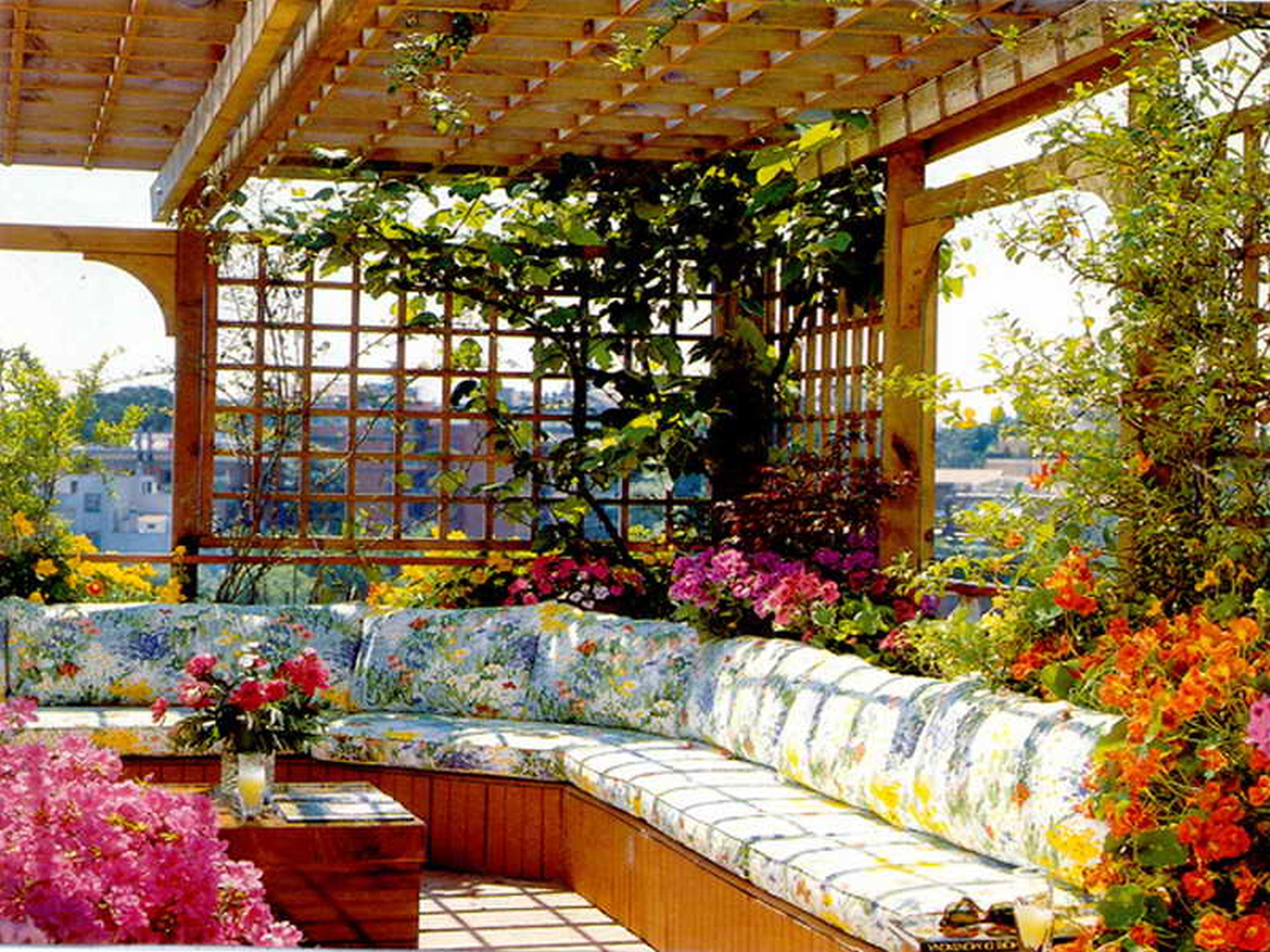 rooftop flower gardens photo - 1