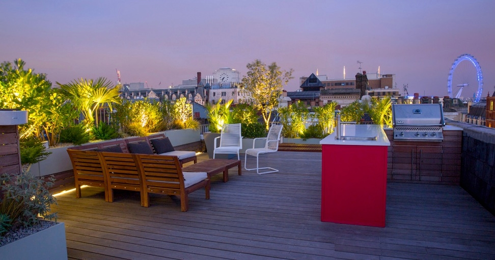 rooftop gardens bbq photo - 1