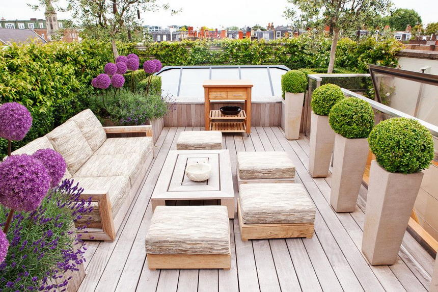 rooftop gardens ideas photo - 5