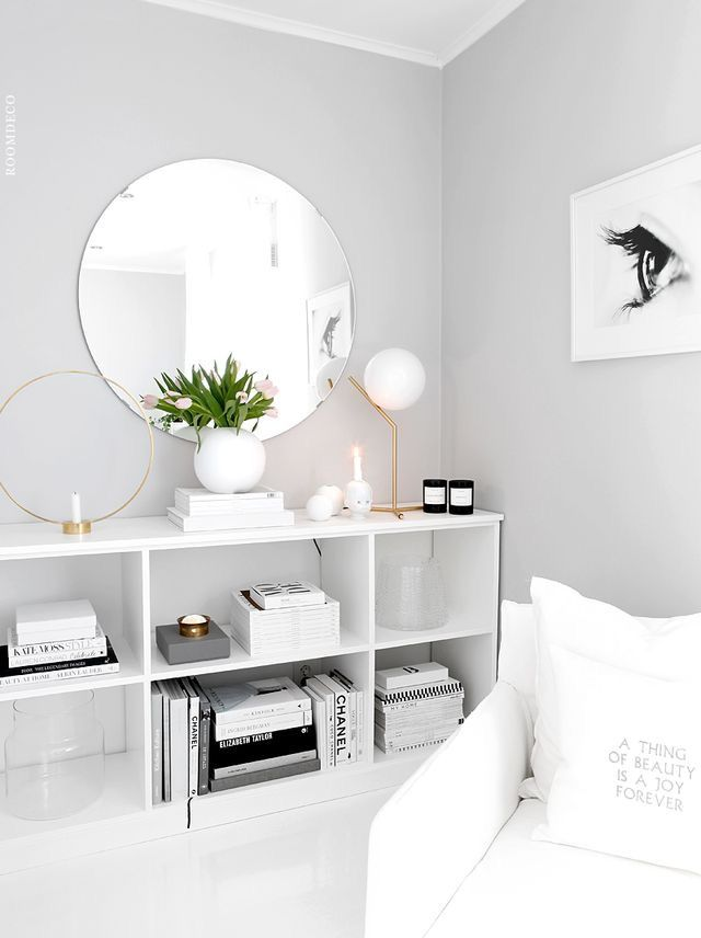 room colors with white furniture photo - 2