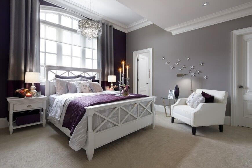 room colors with white furniture photo - 8
