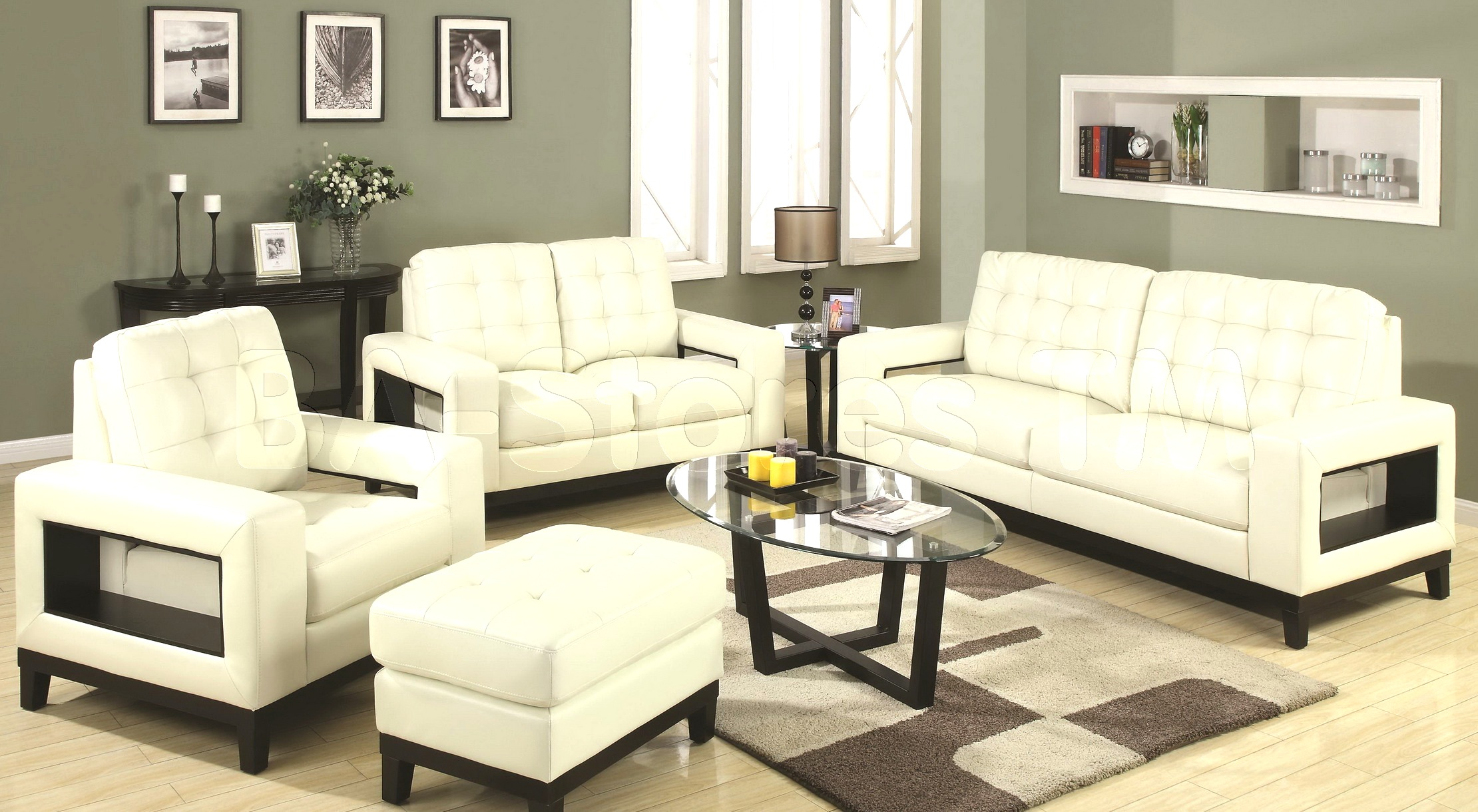 room with white furniture photo - 4