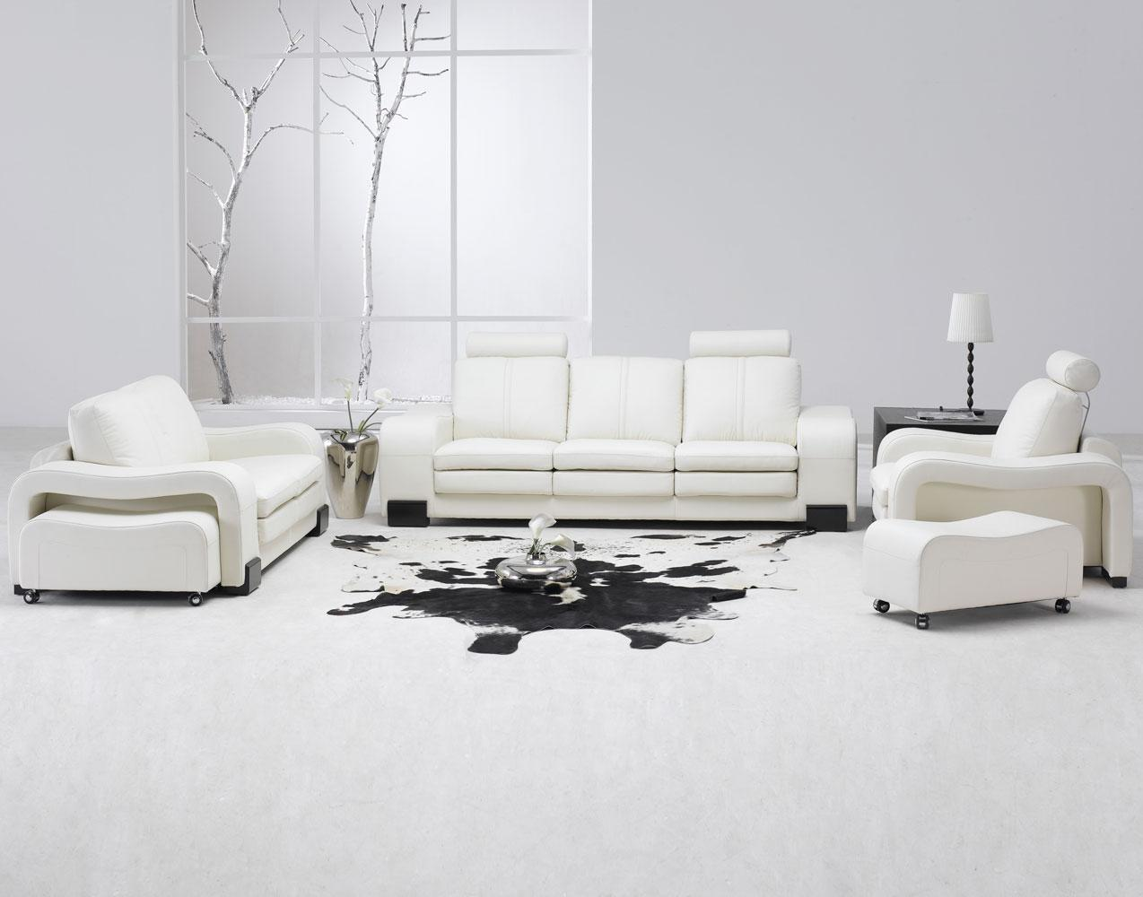 room with white furniture photo - 6