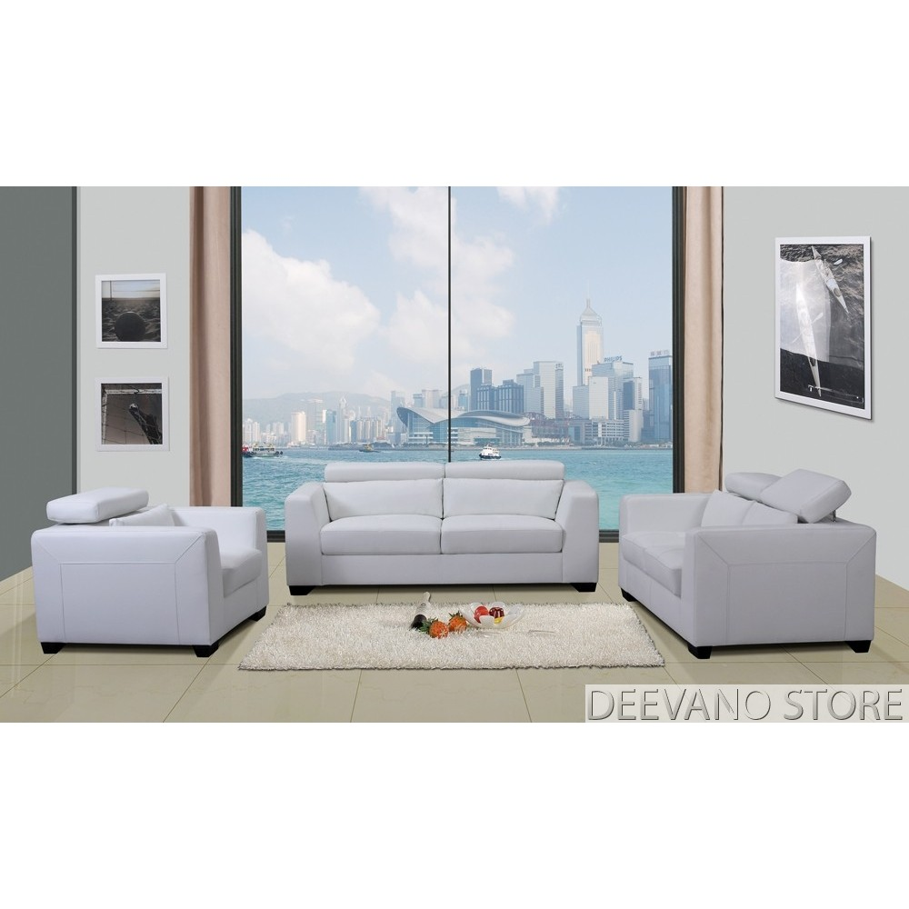 room with white furniture photo - 8
