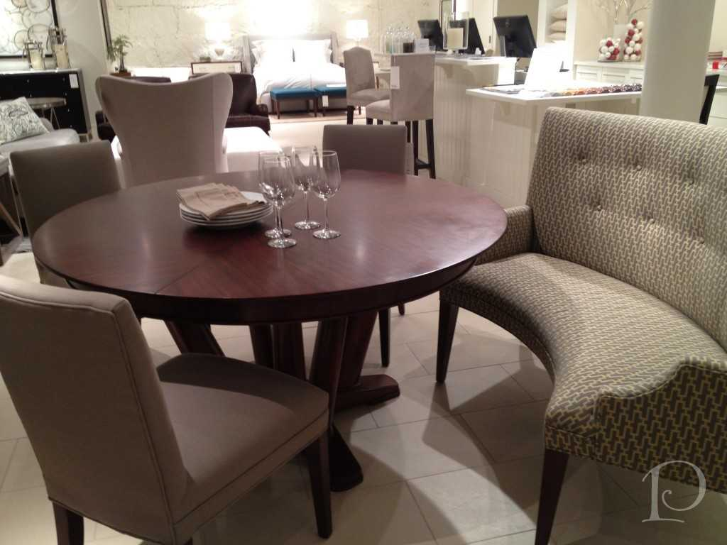 Round Dining Table Booth Hawk Haven