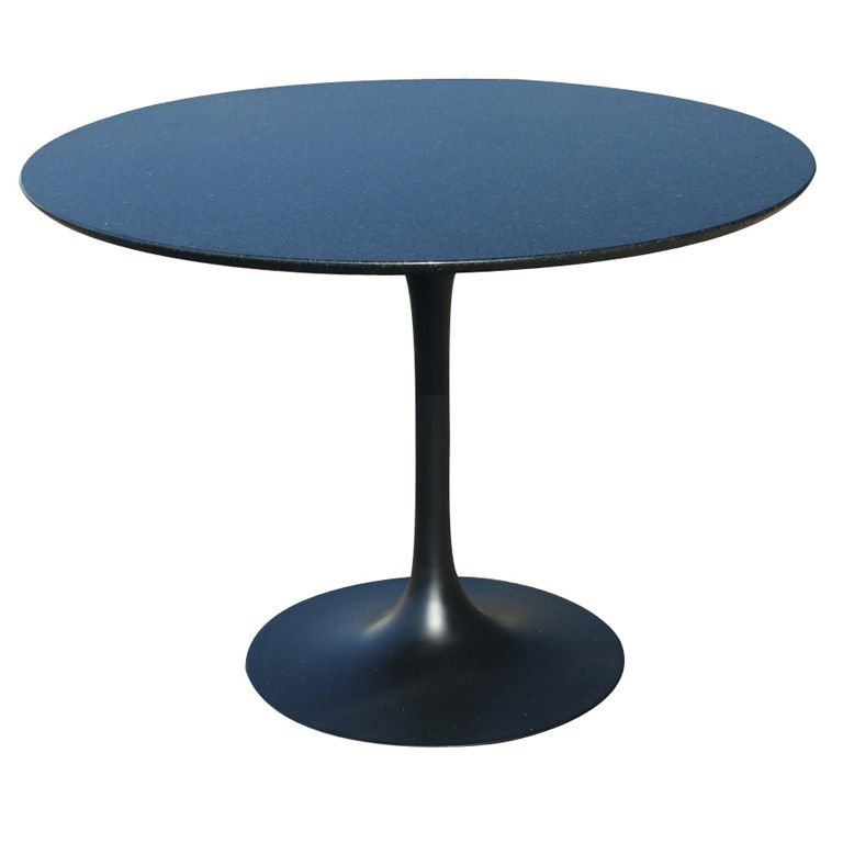 round dining table granite photo - 4
