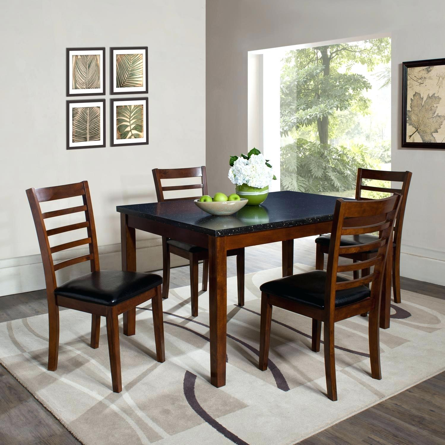 round dining table granite photo - 8