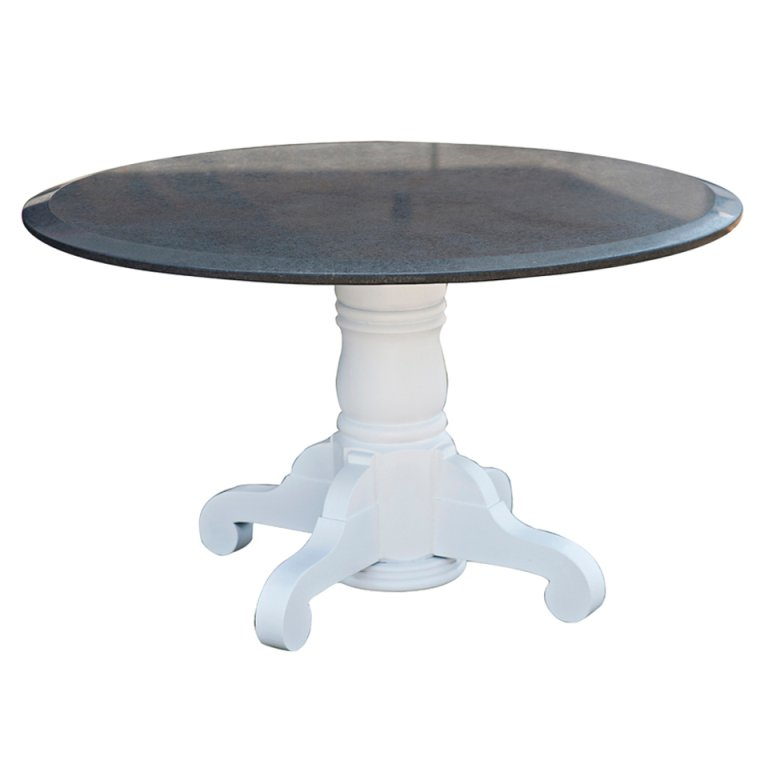 round dining table granite photo - 9