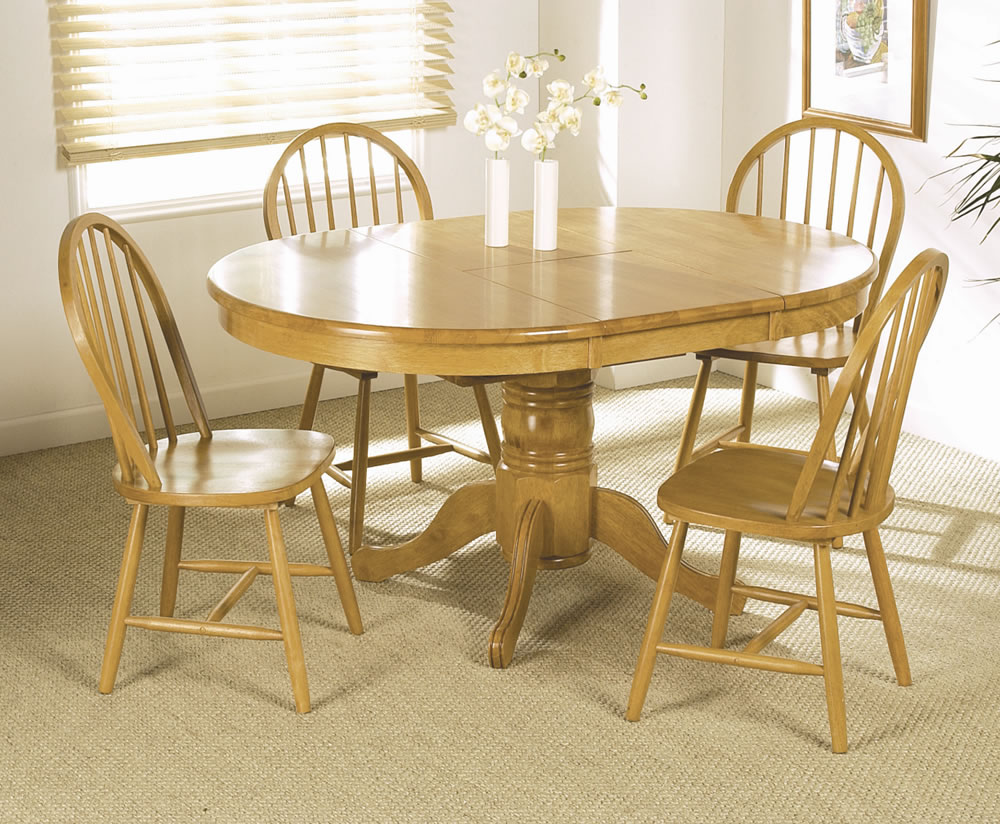 round dining tables and chairs photo - 3