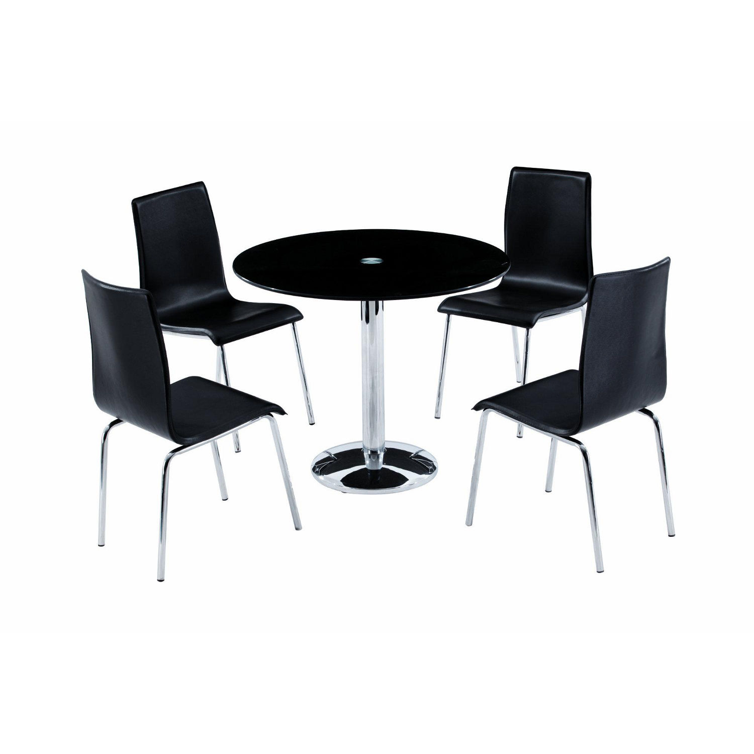 round dining tables and chairs photo - 7