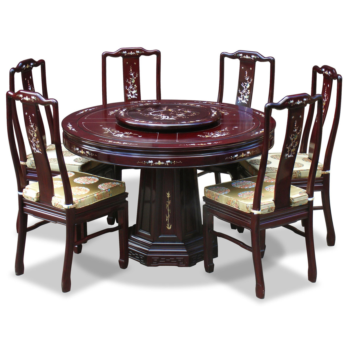Round Dinner Table For 6: Round Dining Tables For 6