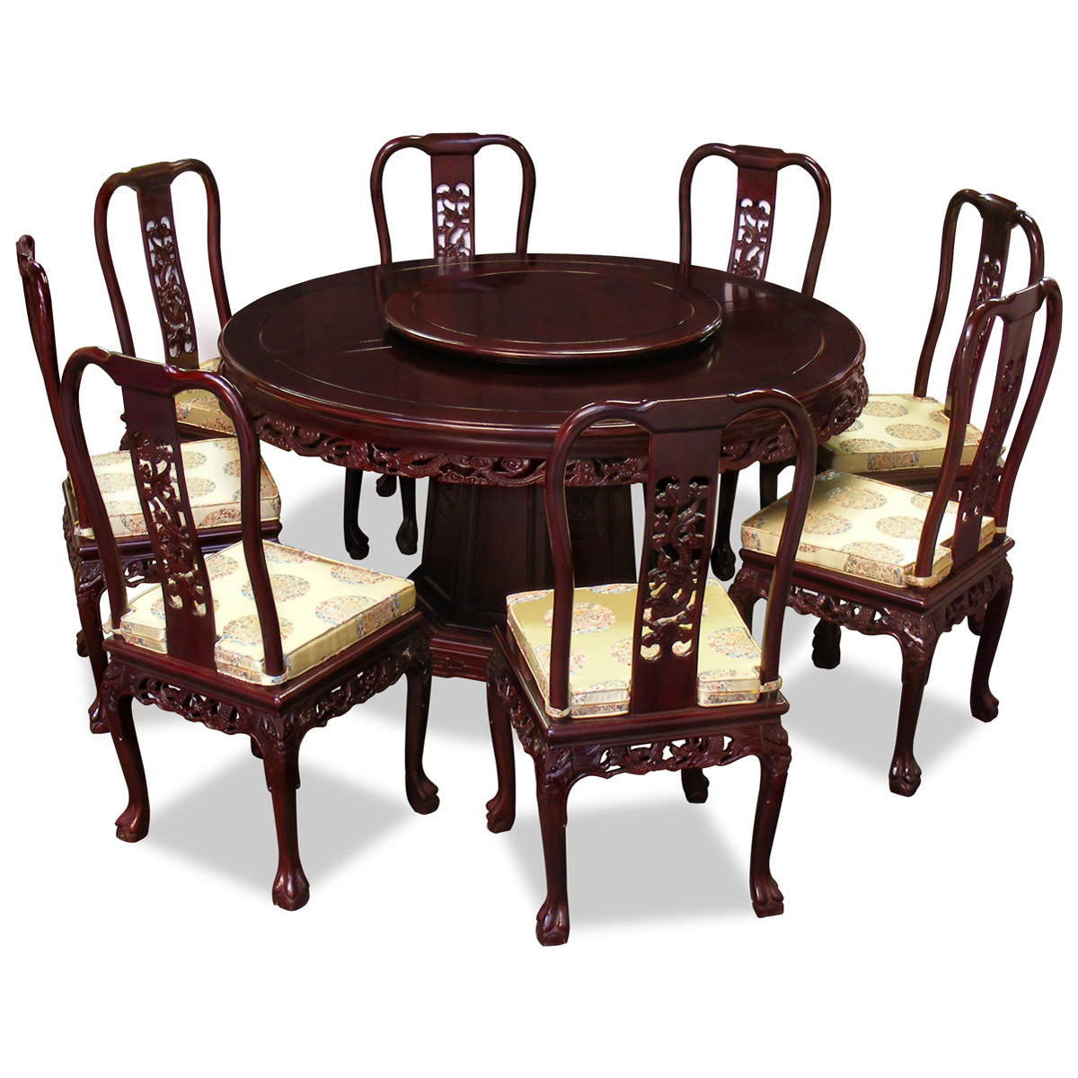 Amazing Round Dining Tables For 8 Photo   3