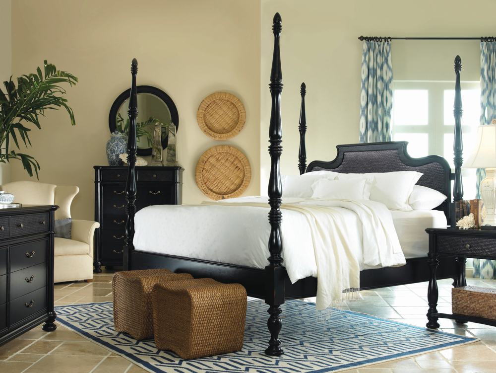 rustic black bedroom furniture photo - 6