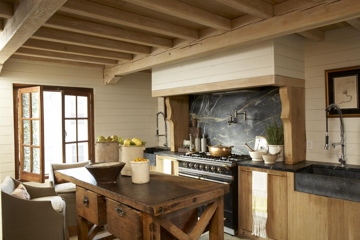 rustic country kitchen designs photo - 4