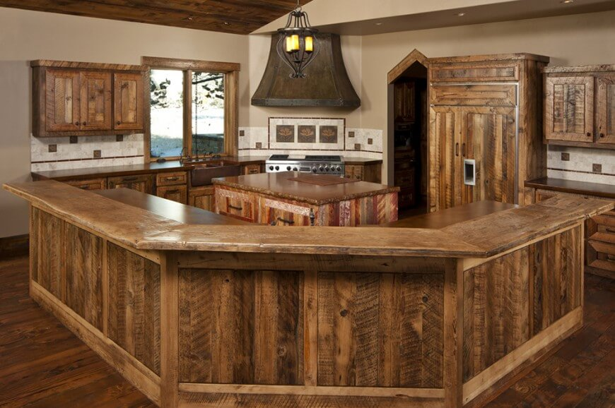 rustic country kitchens pictures photo 3 - Rustic Country Kitchen