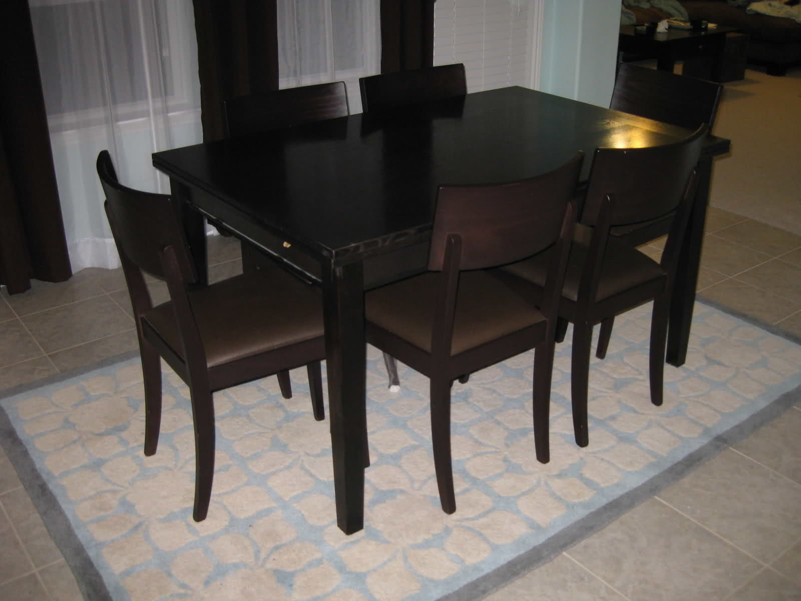 Rustic Dining Table Crate And Barrel Photo   7