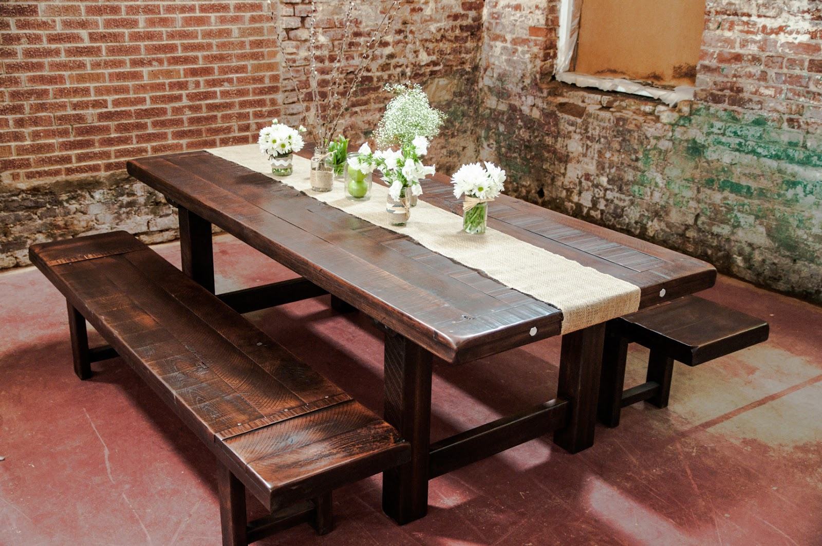 rustic dining table plans photo - 2