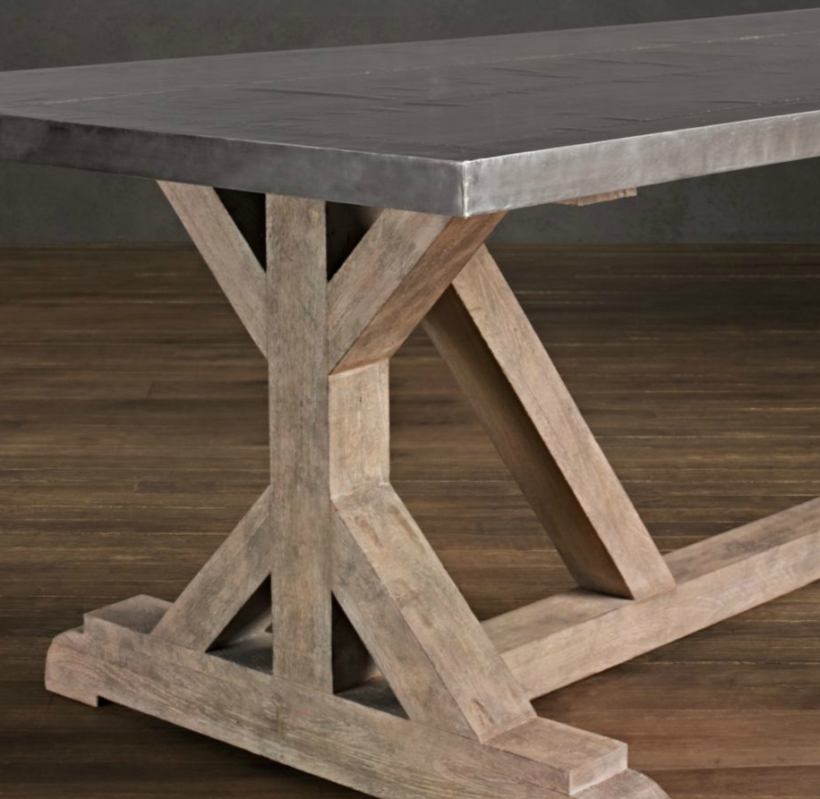 rustic dining table plans photo - 3