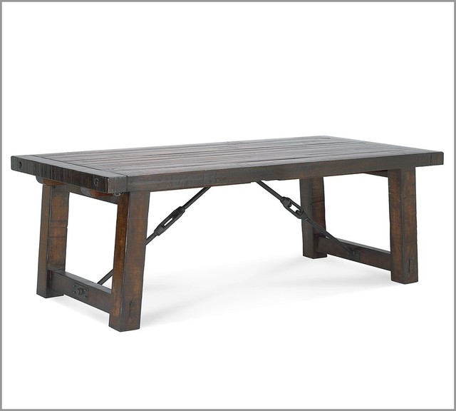 rustic dining table pottery barn photo - 6
