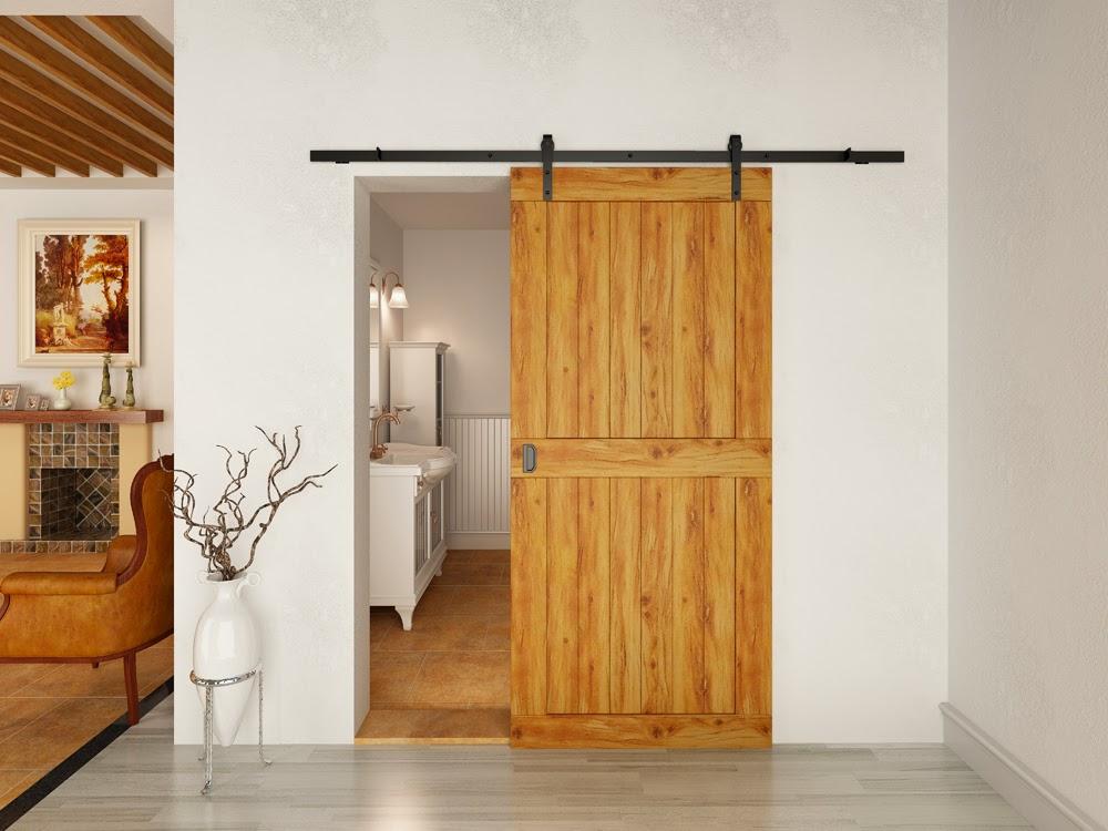 rustic interior sliding doors photo - 4