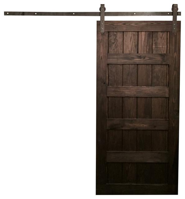 rustic interior sliding doors photo - 6
