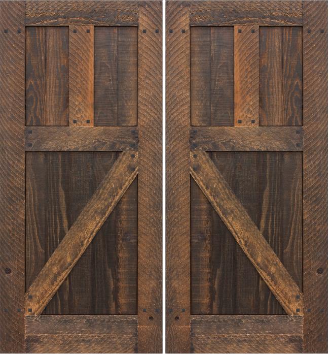 rustic interior sliding doors photo - 8