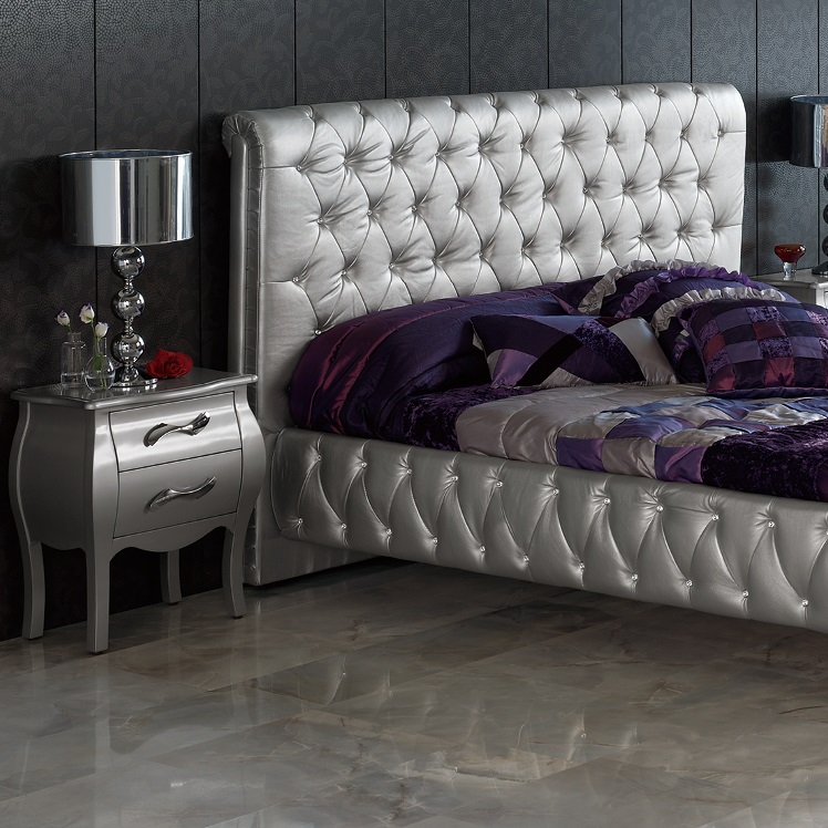 silver bedroom furniture sets photo - 1