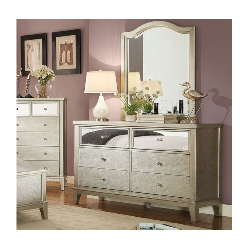 silver bedroom furniture sets photo - 7